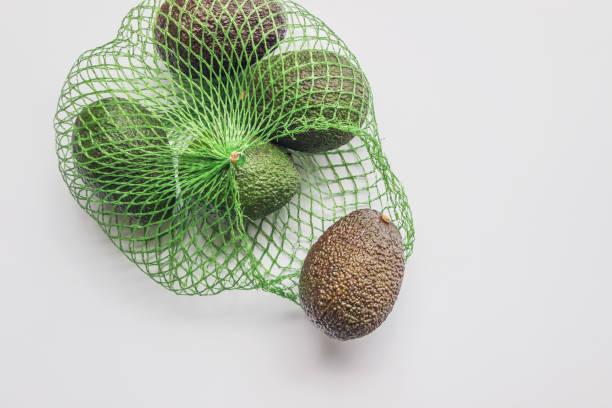 Bio-Avocado in Netztasche – Foto