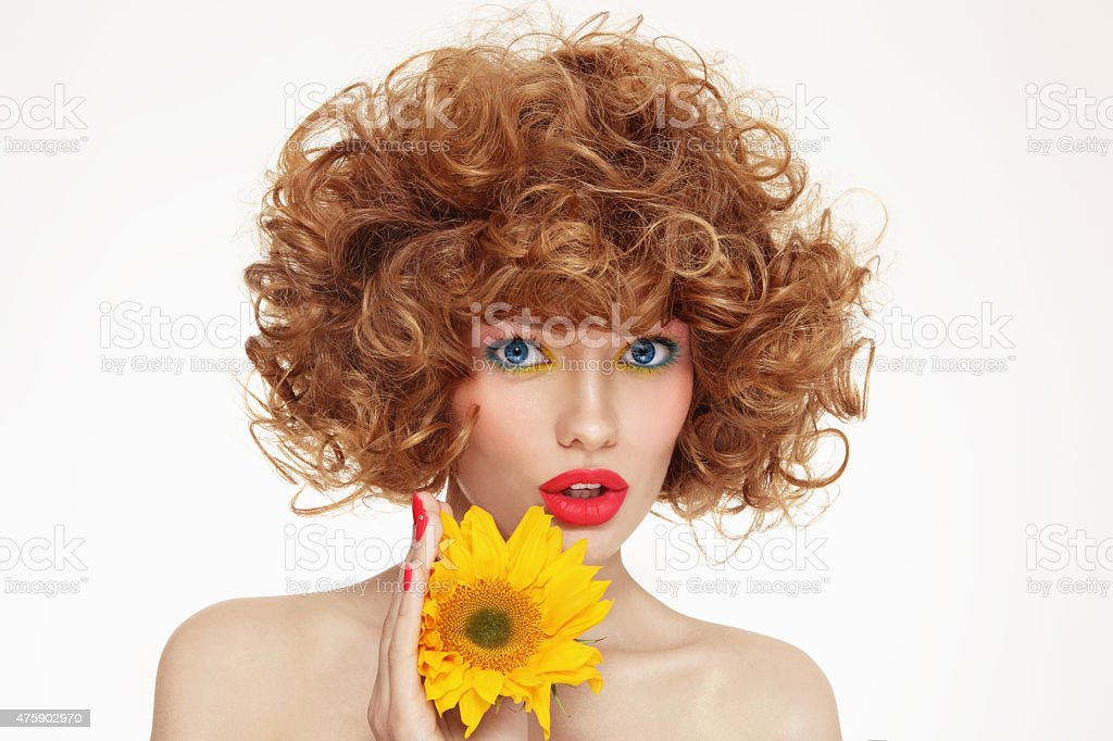 Organic beauty stock photo