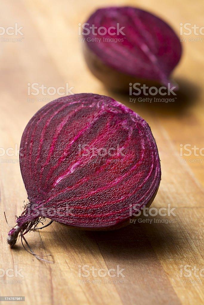 Organic Beet royalty-free stock photo