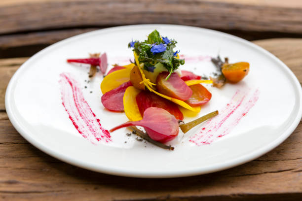 Bio rote Beete Salat – Foto