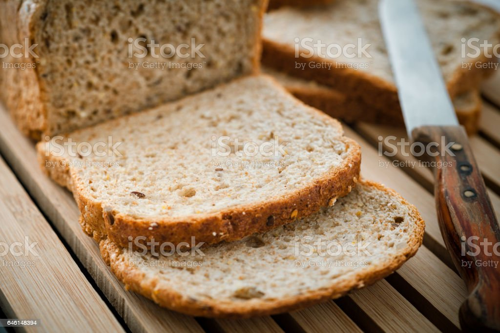 Organic Bread stock photo