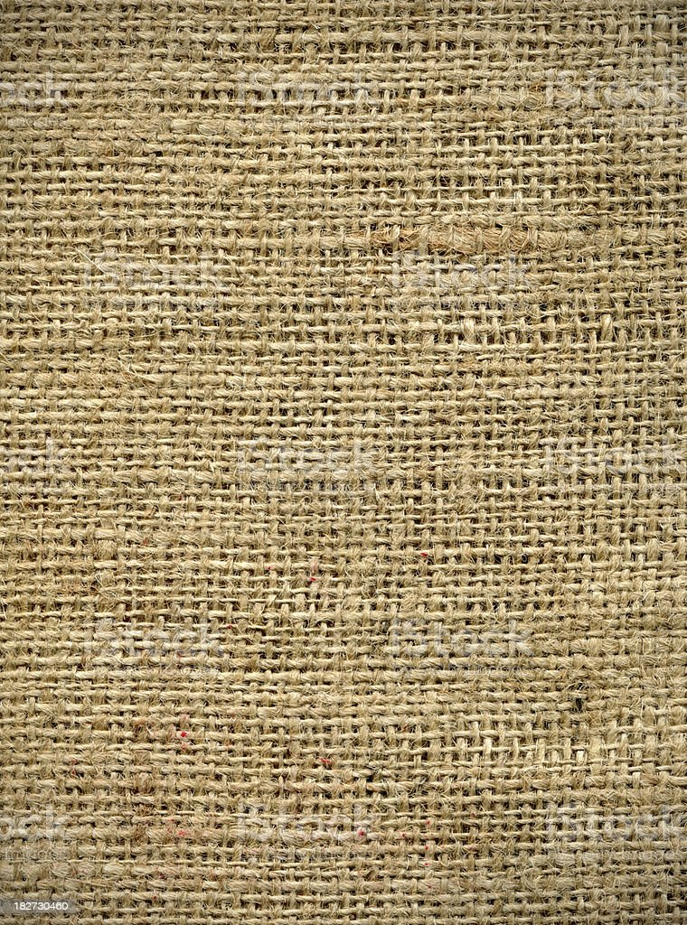 Organic burlap texture stock photo