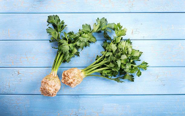 Organic celery stock photo