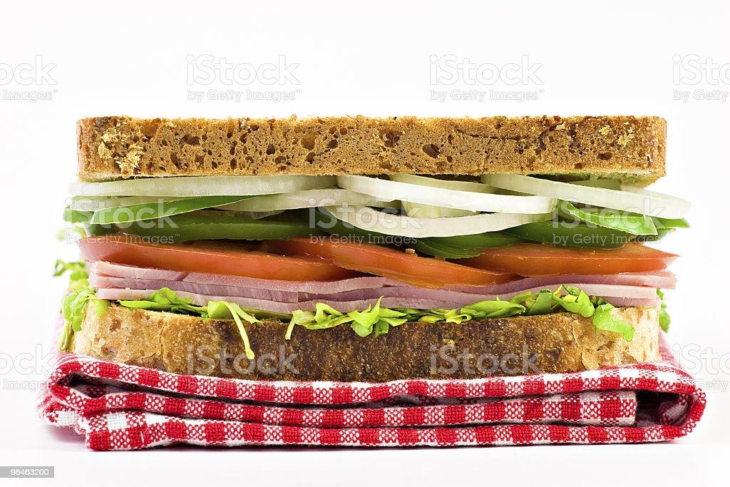 유기 클럽 샌드위치 royalty-free 스톡 사진