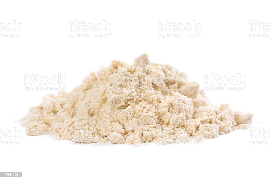 Organic Coconut Flour royalty-free stock photo