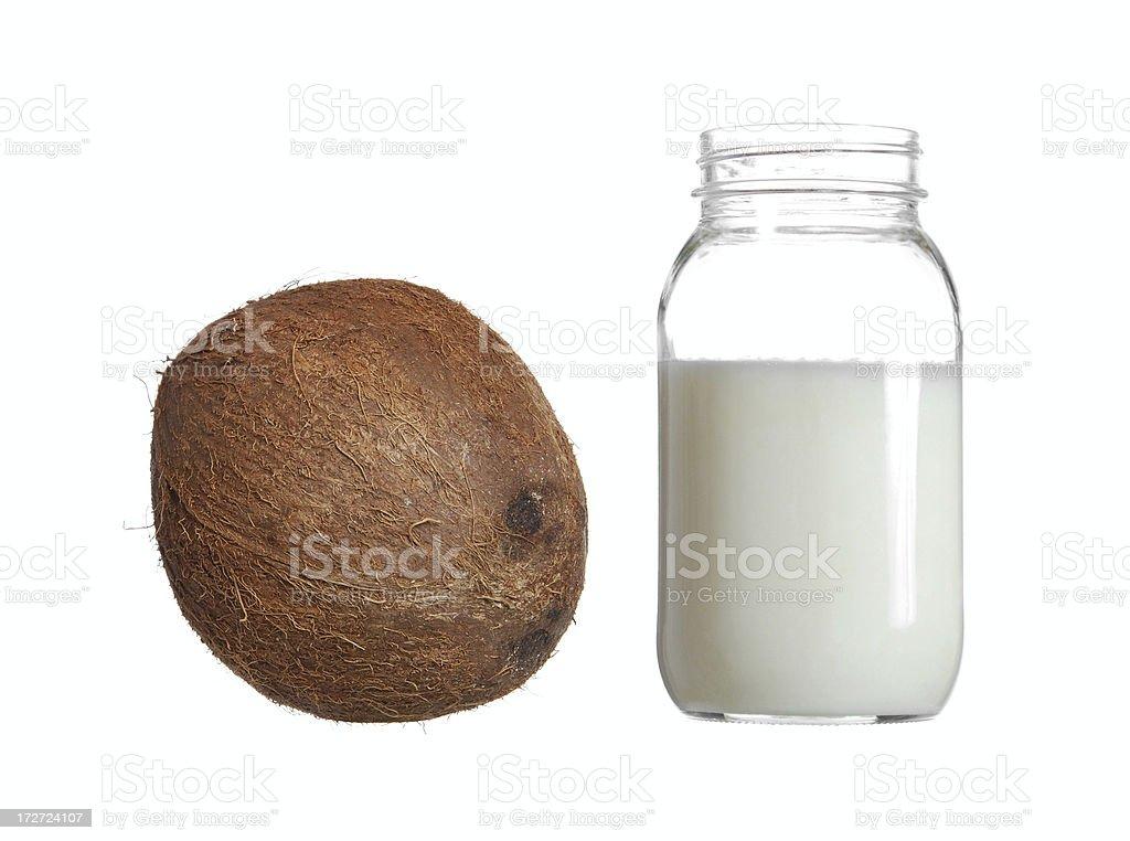 Organic Coconut Oil stock photo