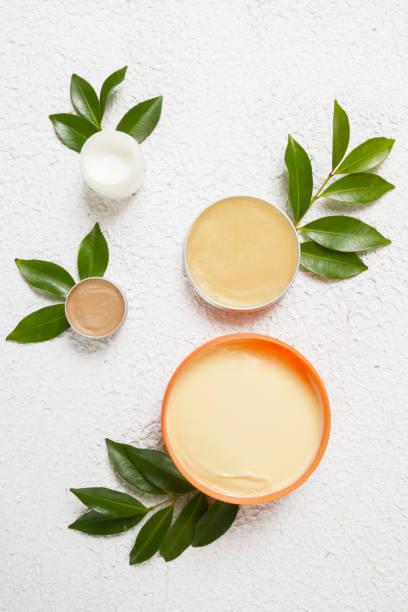 Organic cosmetics stock photo