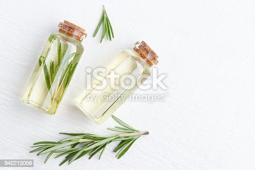 istock Organic cosmetics with extracts of herbs rosemary. 940213056