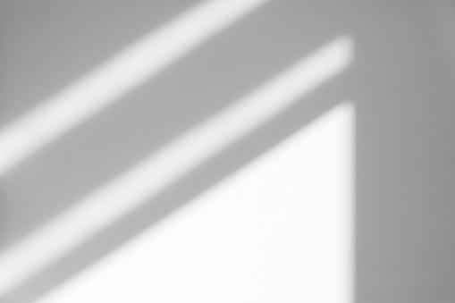 Organic drop shadow on a white wall