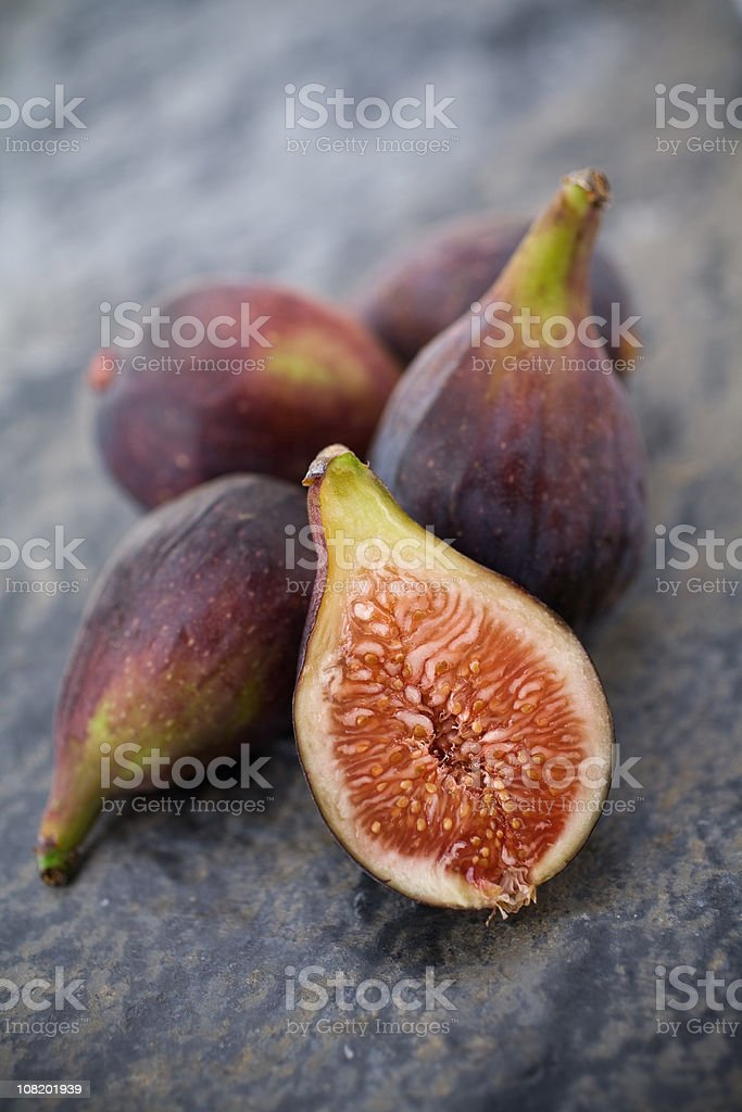 Organic Figs stock photo