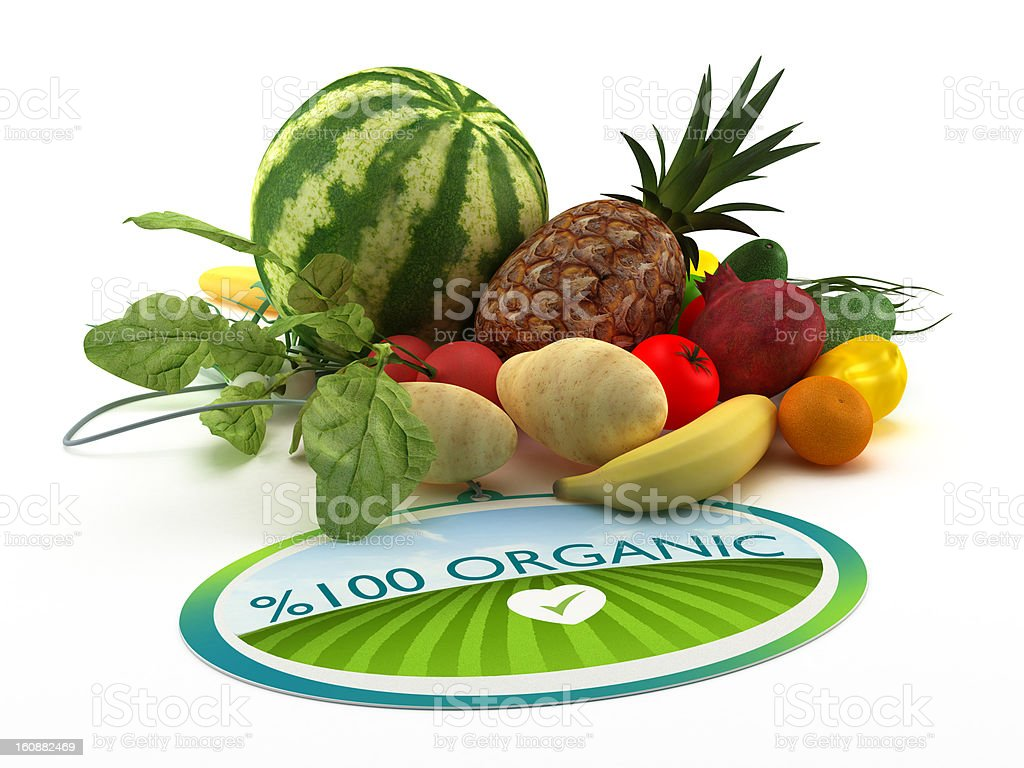 Organic food royalty-free stock photo