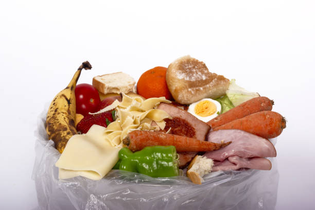 organiskt matsvinn - food waste bildbanksfoton och bilder