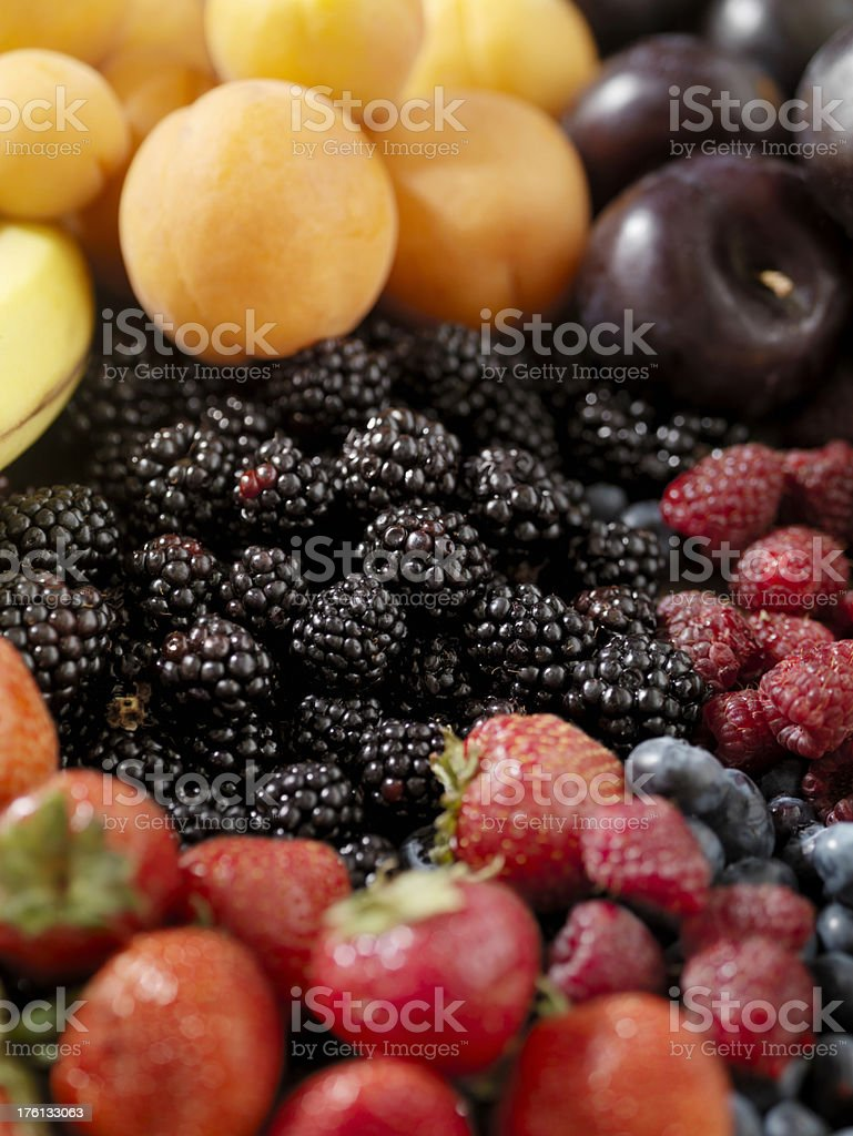 Organic Fruit royalty-free stock photo