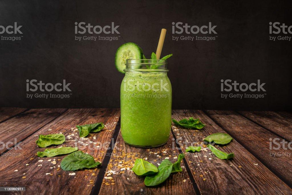 Organic Fruit Smoothie stock photo