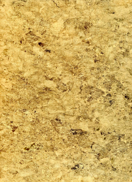organic gold fiber paper background stock photo