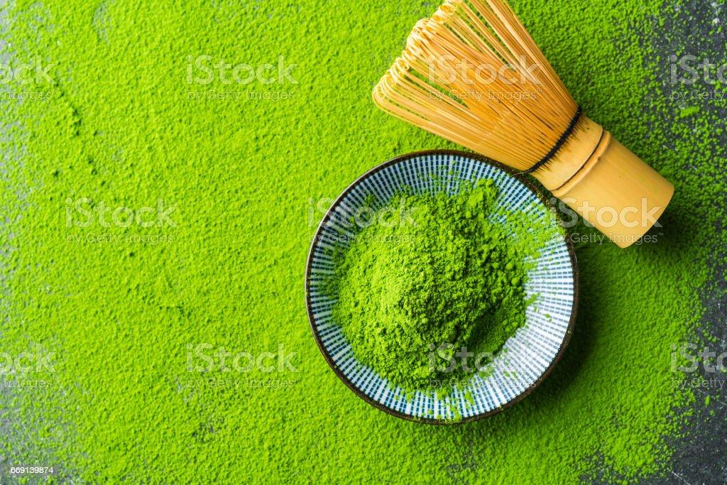 Bio au thé vert Matcha - Photo