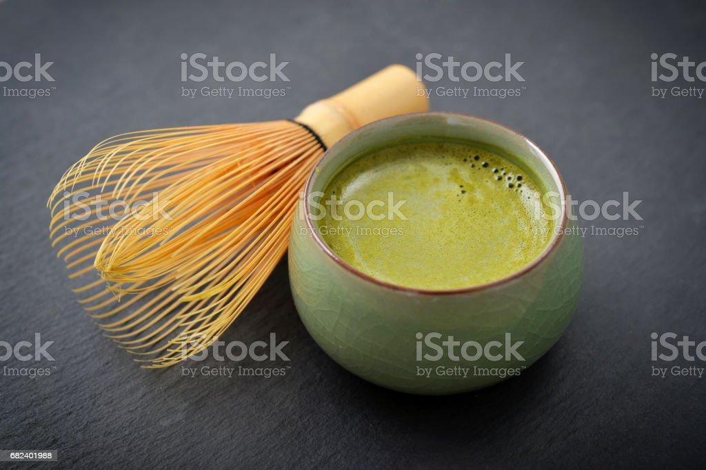 Bio au thé vert Matcha photo libre de droits
