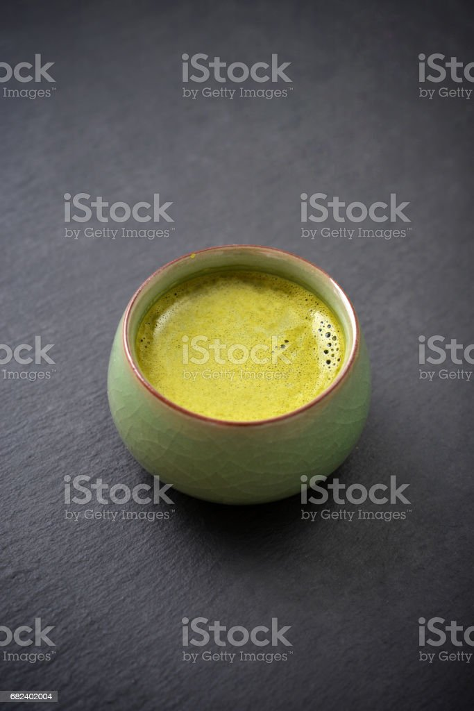 Organic Green Matcha Tea royalty-free stock photo