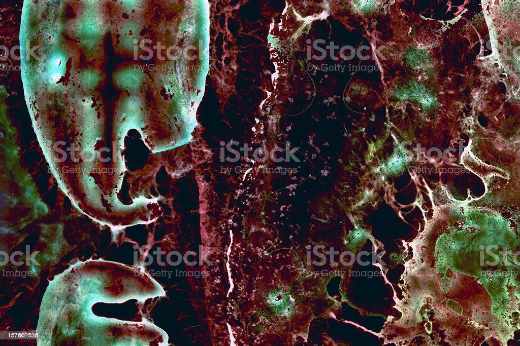 Organic Grunge Background - Series royalty-free stock photo