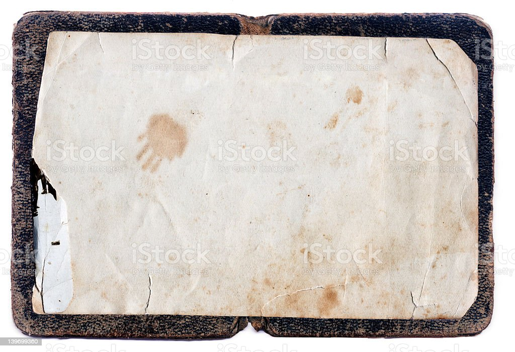 Organic Grunge Frame - High resolution stock photo
