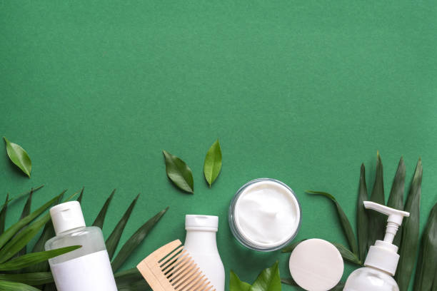 Organic Hair Care stock photo