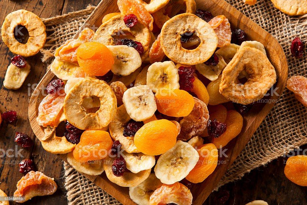 Orgánico saludable variedad de frutas secas - Foto de stock de Albaricoque libre de derechos