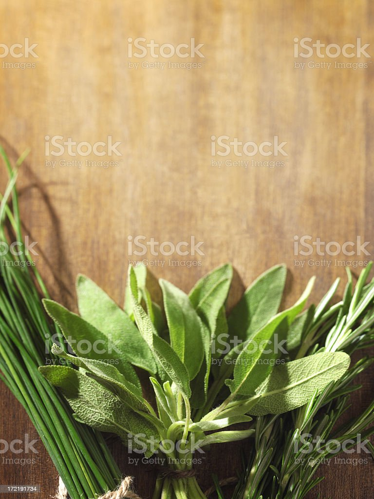 Organic Herbs royalty-free stock photo