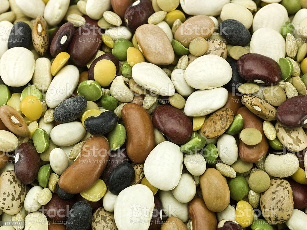 Organic Legumes background royalty-free stock photo