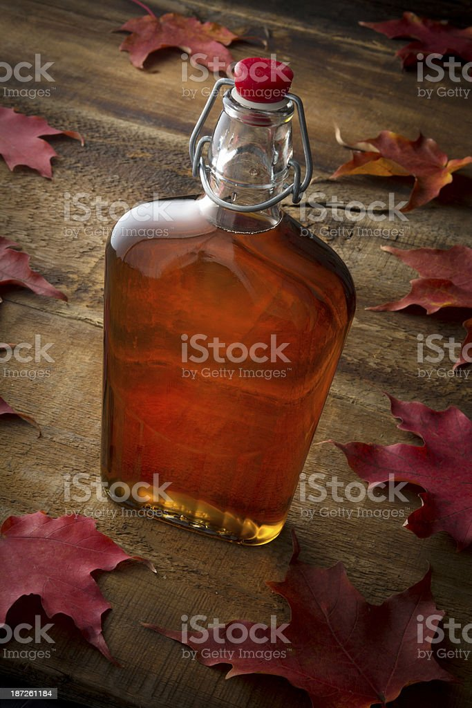 Organic Maple Syrup stock photo