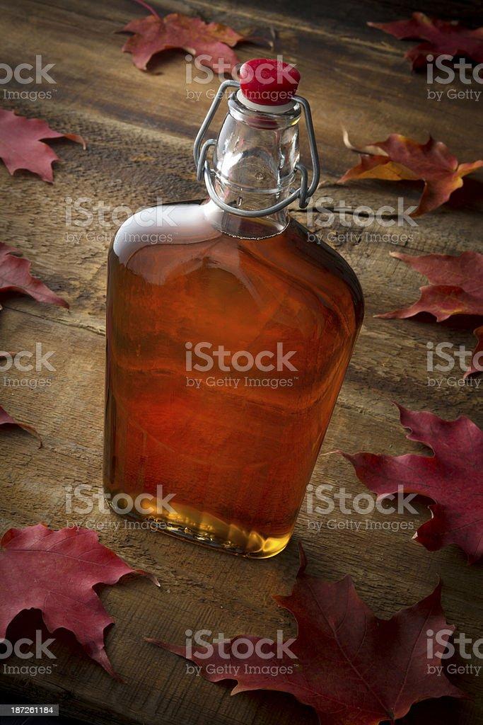 Organic Maple Syrup stock photo