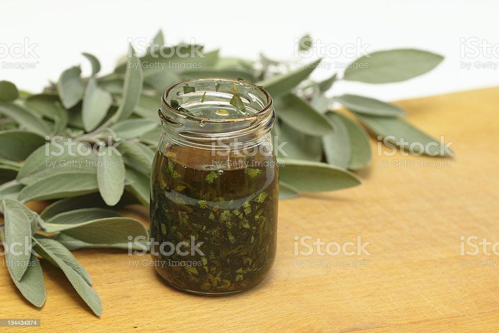 Organic medicinal  oil royalty-free stock photo