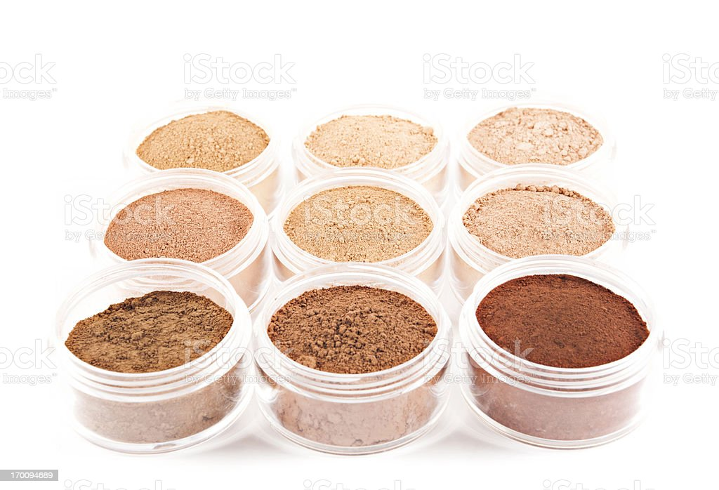 Organic Mineral Makeup royalty-free stock photo