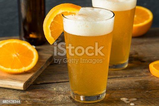 Organic Orange Citrus Craft Beer Stock Photo & More Pictures of Alcohol