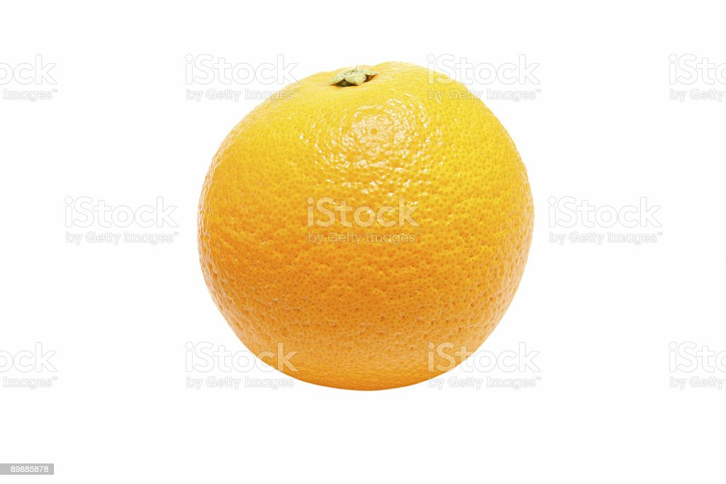 Organic Orange royalty-free stock photo