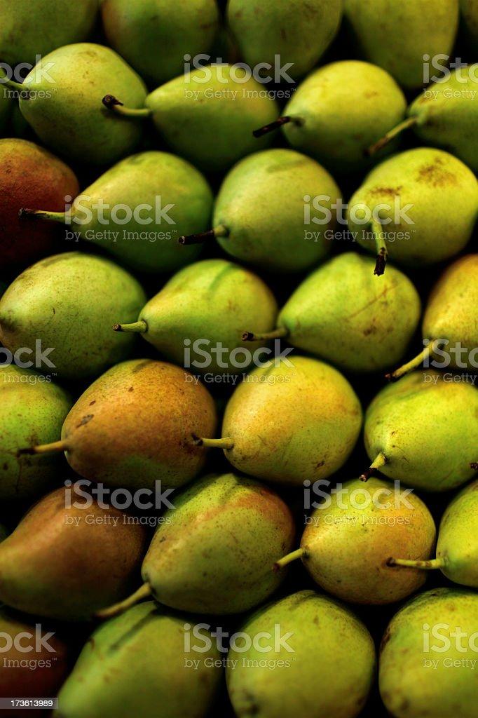 organic pears stock photo