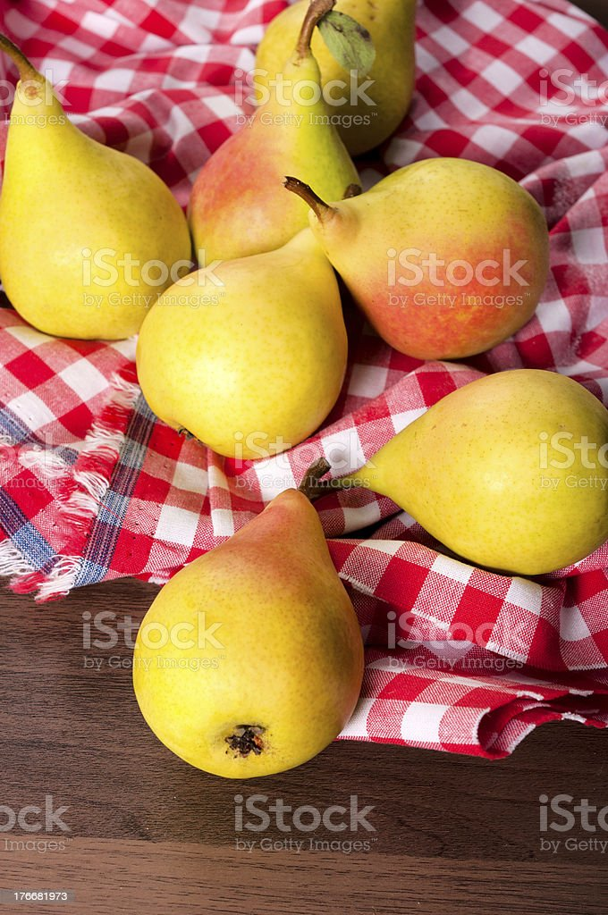Organic pears royalty-free stock photo