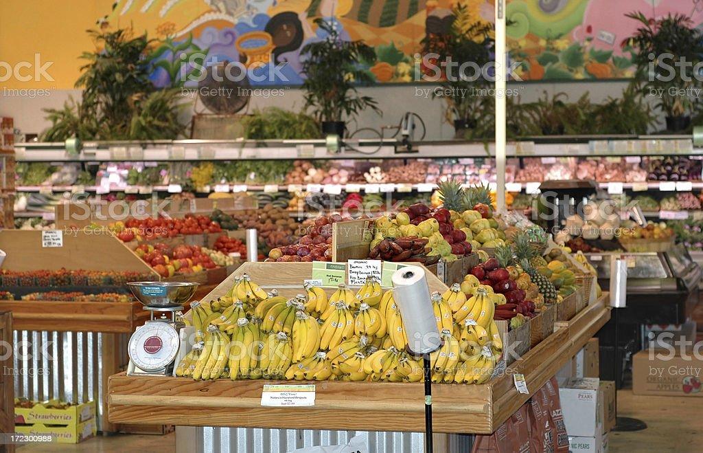 Organic Produce Market stock photo