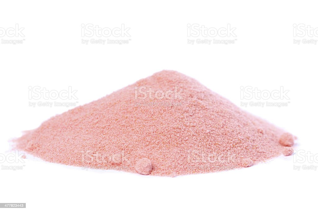 Organic Raw Pomegranate Powder royalty-free stock photo