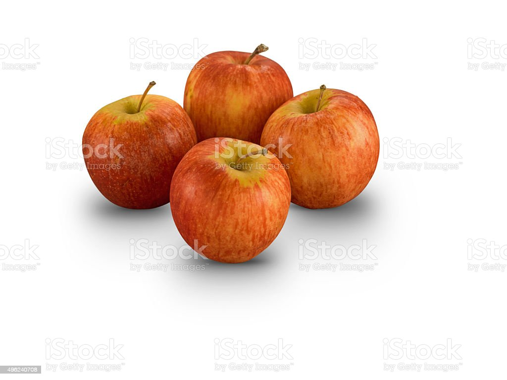 Organic Royal Gala Apples stock photo
