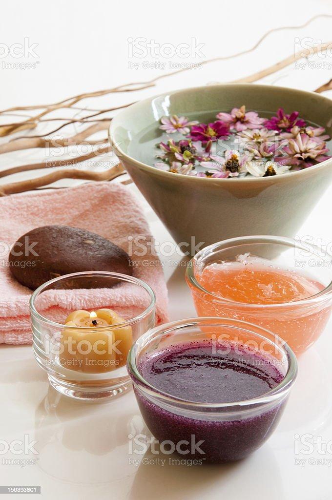 Organic scrub royalty-free stock photo