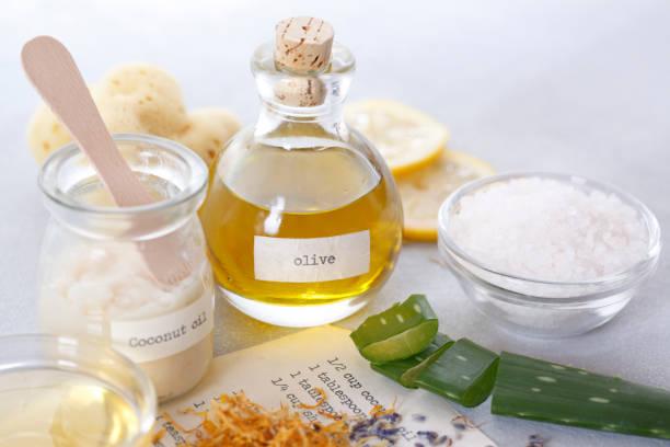 Organic Skin Care stock photo