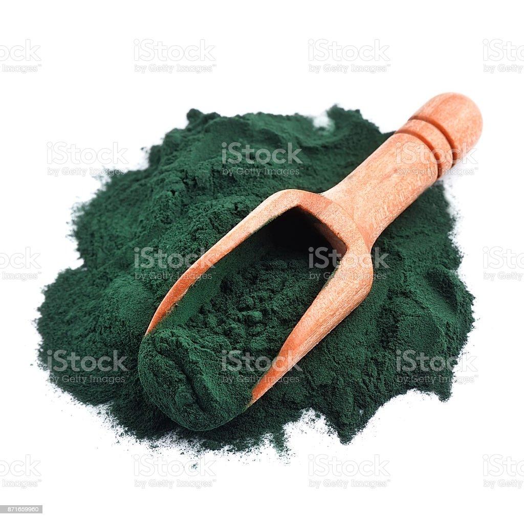 Orgánica Espirulina - foto de stock