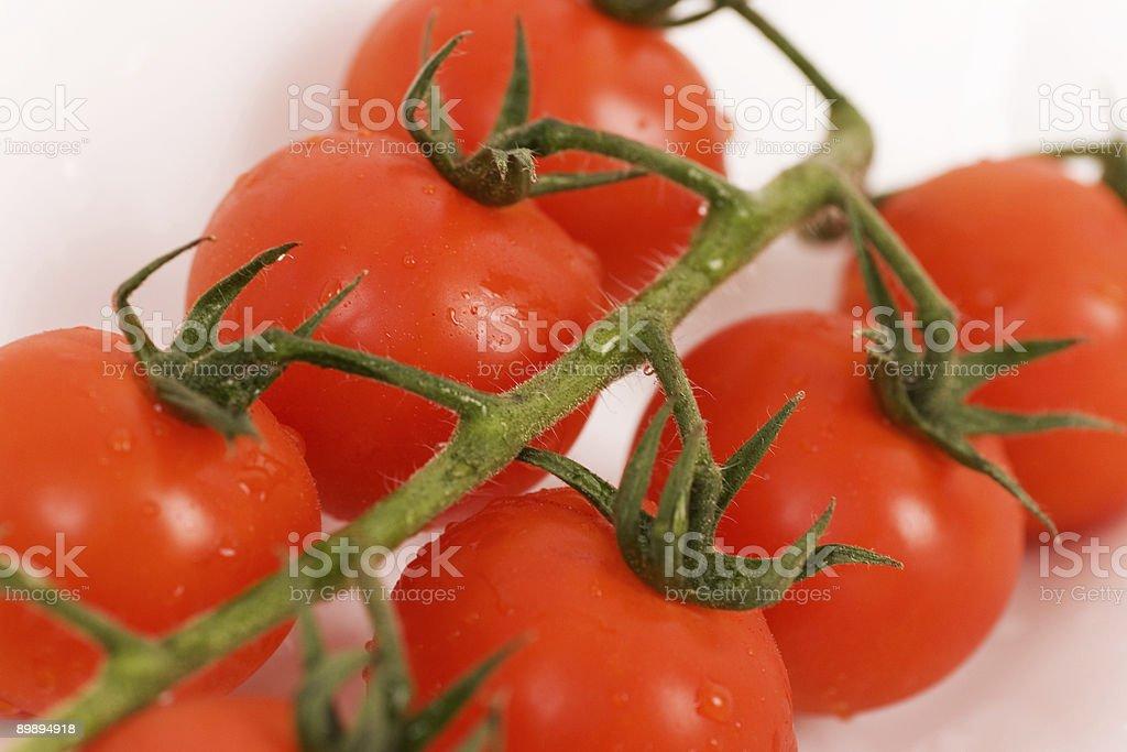 organic tomatoes royalty-free stock photo