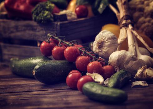 Organic Vegetables Fresh From Market