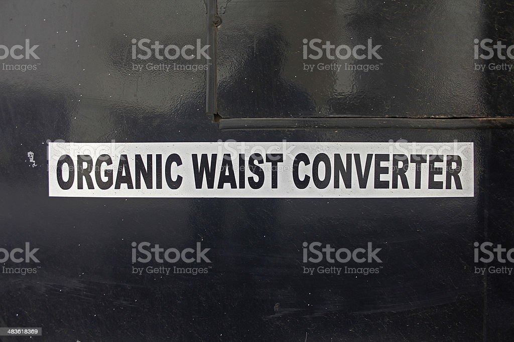 organic waste converter royalty-free stock photo