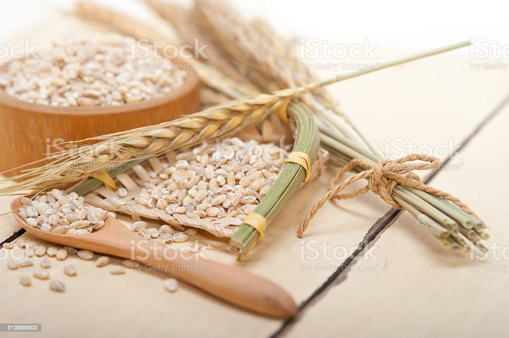 Organic Wheat Grains Stock Photo & More Pictures of Agriculture
