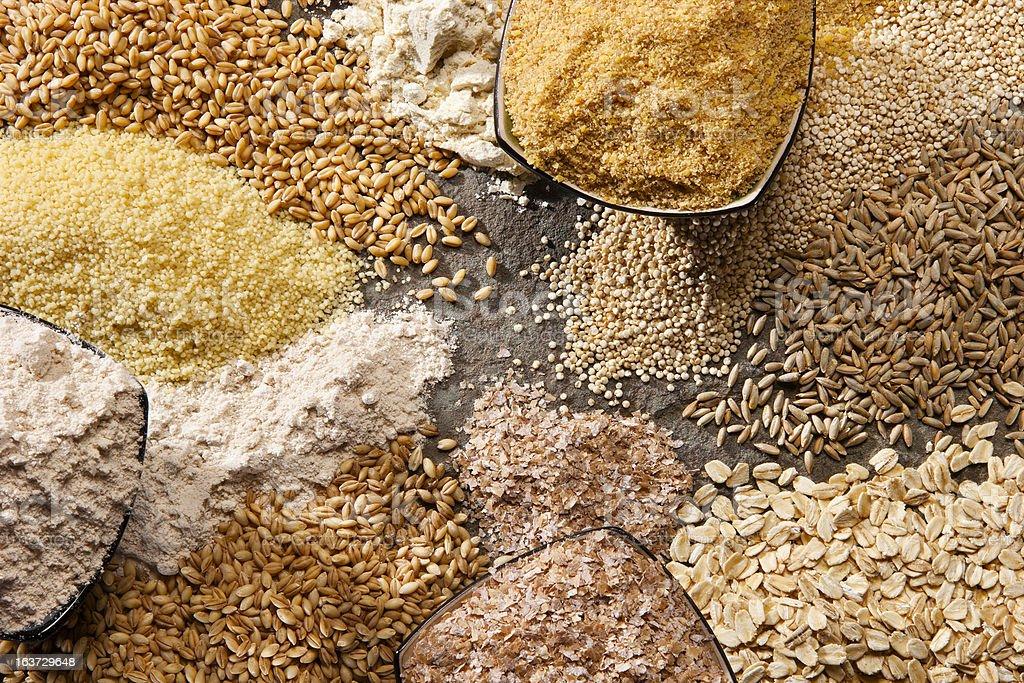 Organic Whole Grains stock photo