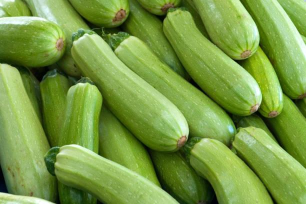 biologische courgette - squash komkommerfamilie stockfoto's en -beelden