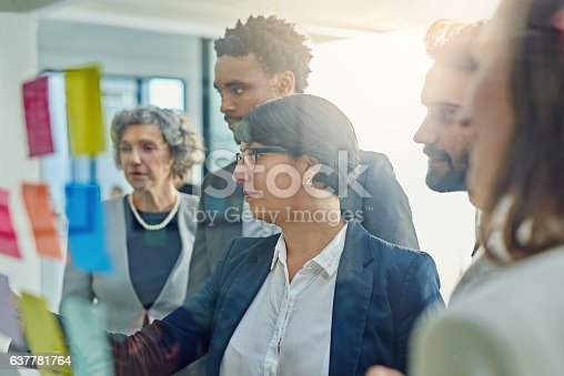 istock Organising every detail together 637781764