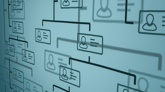 Organization Chart Concept Stock Photo - Download Image Now